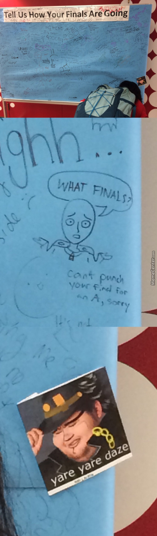 My Finals Are Coming Up, So I Found This Appropriate