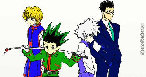 My First Ever Try With Intous Pen And Touch-Hunterxhunter