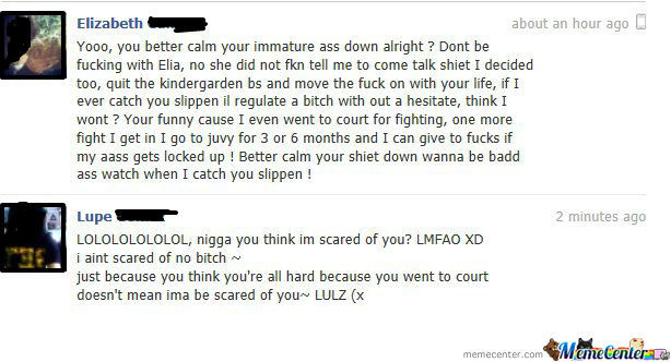 My Friend Lupe Arguing Back Like A Boss...