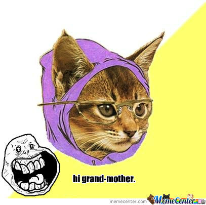 My Grand-Mother Is A Kittycat