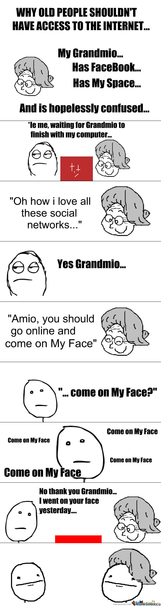 My Grandmio... (That's Amio Talk For Grandmother Btw)