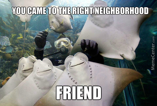My Little Manta : Friendship Is Underwater
