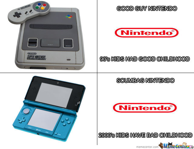 My Opinion About Nintendo Then - Now