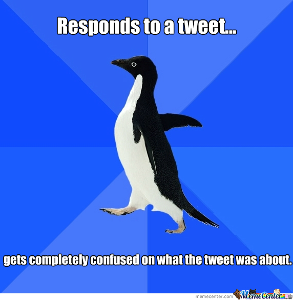 My Socially Awkward Moment On Twitter