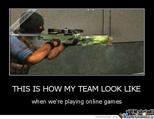 My Team In Online Games