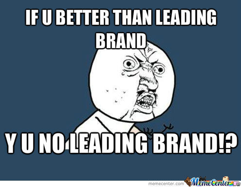 My Thoughts When I See A Cleaning Product On Commercial Saying Its Better Than The Leading Product