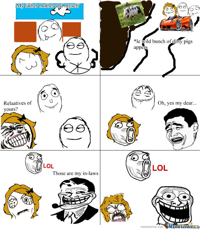 My Troll Dad Wins Agin :d