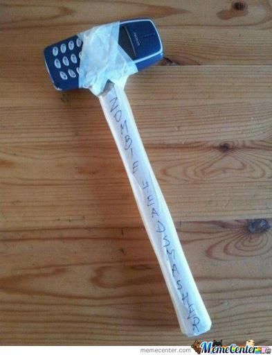 My Weapon For The Zombie Apocalypse