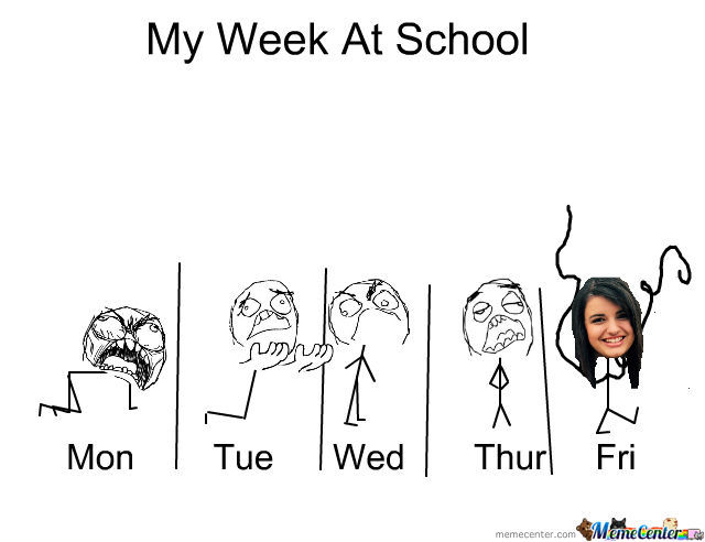My Week At School :/