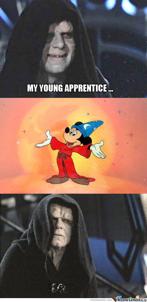 My Young Apprentice...