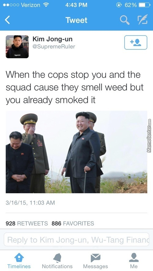 N-Korea Has The Dankest Kush