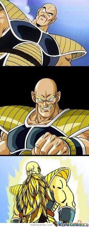 Nappa Is Over 9000!