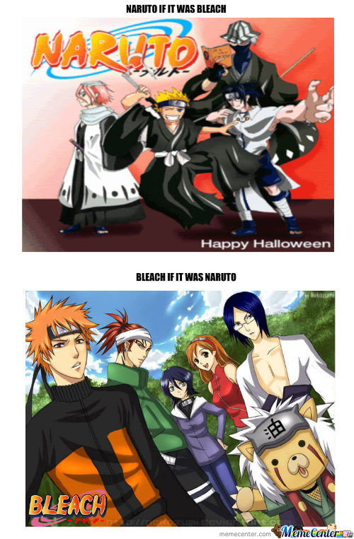Naruto Bleach