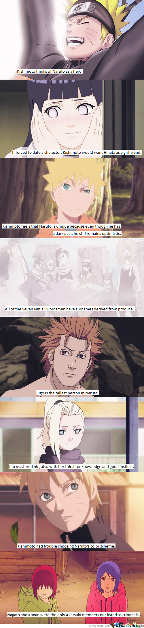 Naruto Facts #8