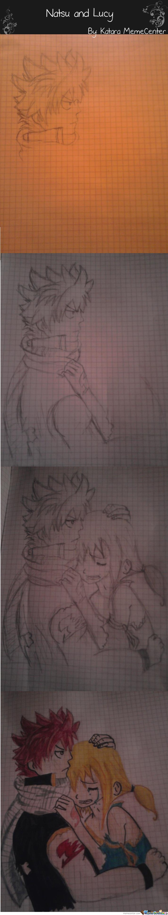 Natsu And Lucy By Me