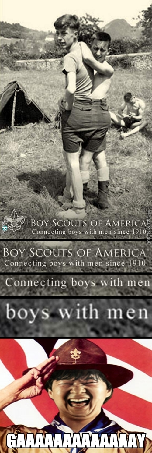 Naughty, Naughty Boy Scouts!