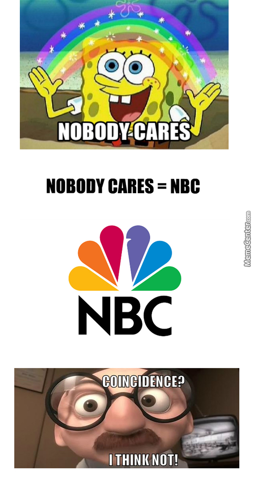 Nbc You're Here To Listen Not To Speak!