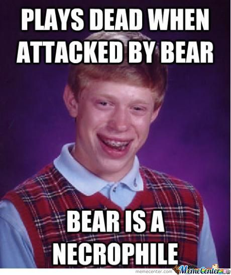 Necrophile Bear