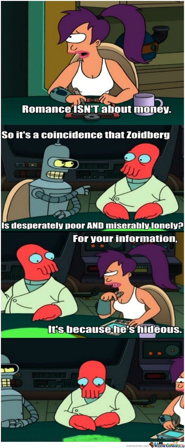Need A Boyfriend? Y Not Zoidberg?