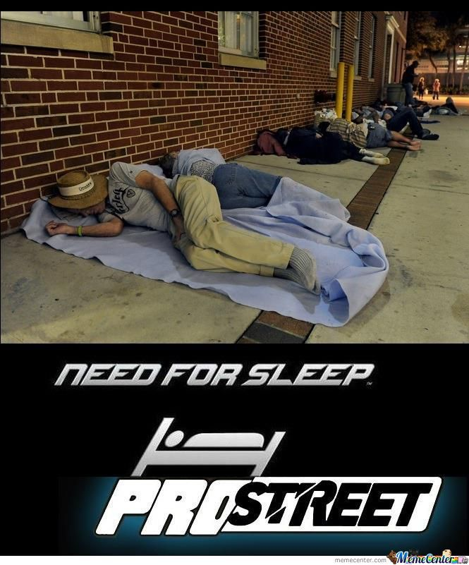 Need For Sleep: Prostreet
