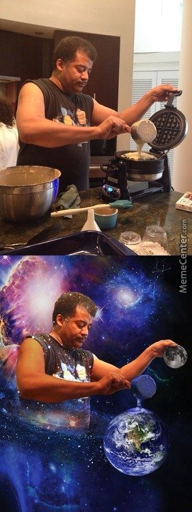 Neil Degrasse Tyson Making Universe