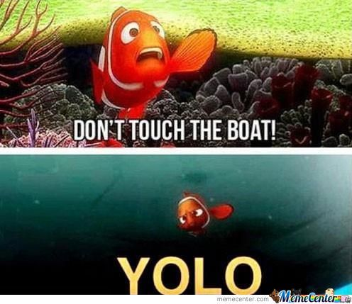 Nemo's Version Of Yolo