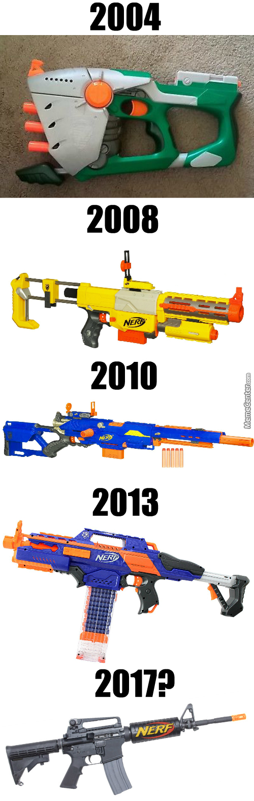 Nerf Guns Keep Getting More Realistic