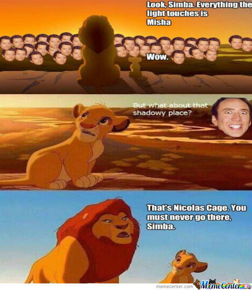 Never Go To Nicolas Cage. -.-