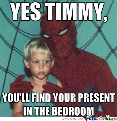 Never Hire Spidey For Your Birthday