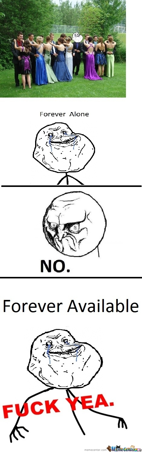 Never More Forever Alone