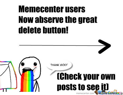 New Delete Button