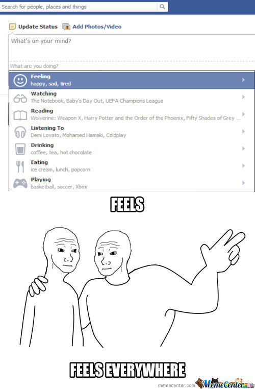 New Facebook Update (Feels)