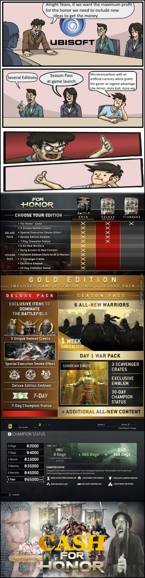 New Games Experience - Cash For Honor