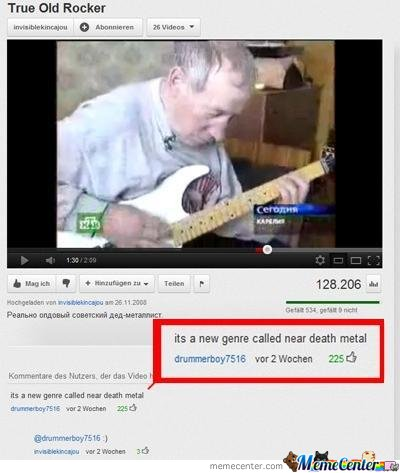 New Genre Of Metal...near Death Metal!!