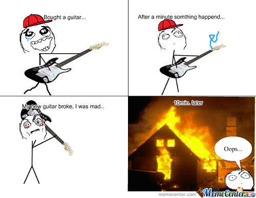 New Guitar Rage