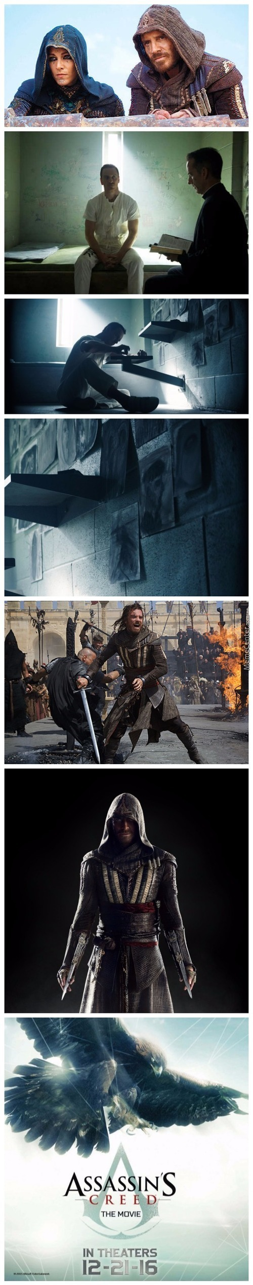 New Image From Upcoming Assassin's Creed Film Released Featuring Michael Fassbender