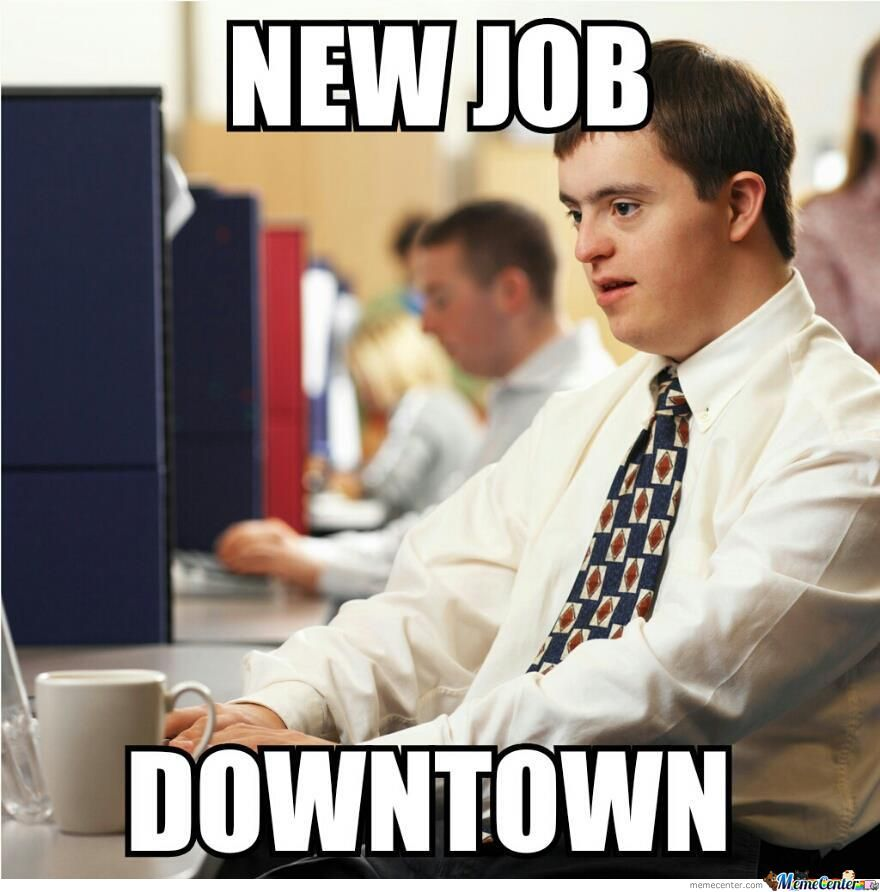 New Job Downtown