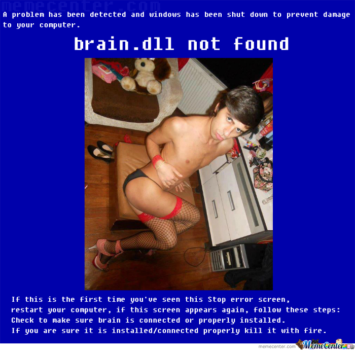 [New Meme] Brain.dll Not Found