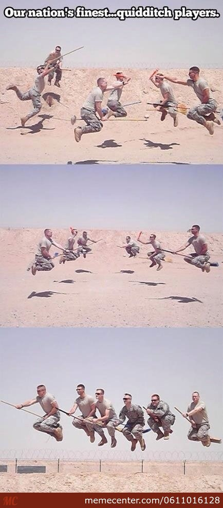 New Military Quidditch