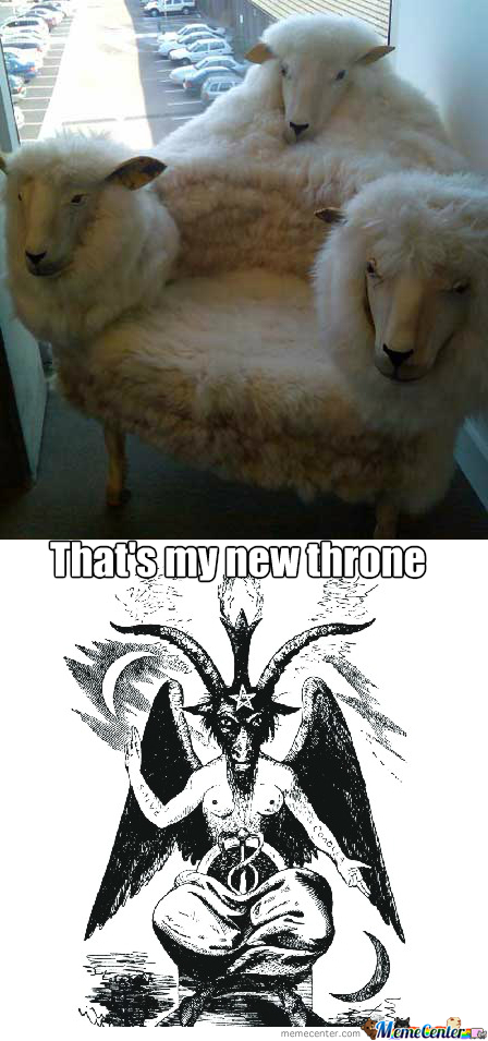 New Throne For That Goat