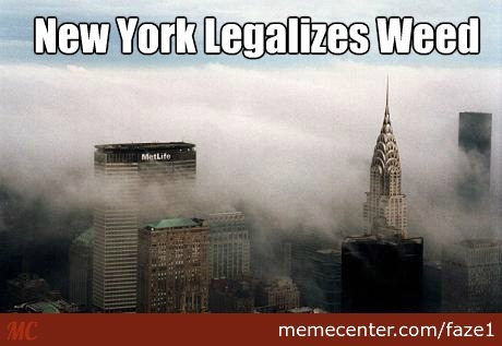New York Legalizes Weed