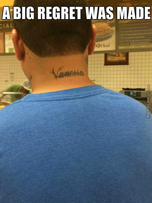 "Next Time, Tattoo ""idiot"" On Your Forehead."