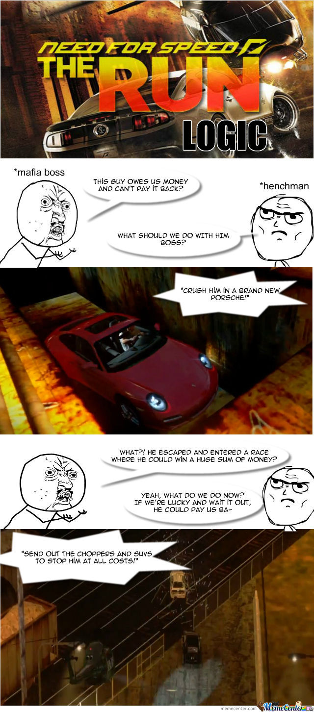 Nfs The Run Logic