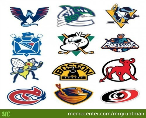 Nhl Hockey Team's Logos Redesigned As Pokemon. Can You Guess Them All?