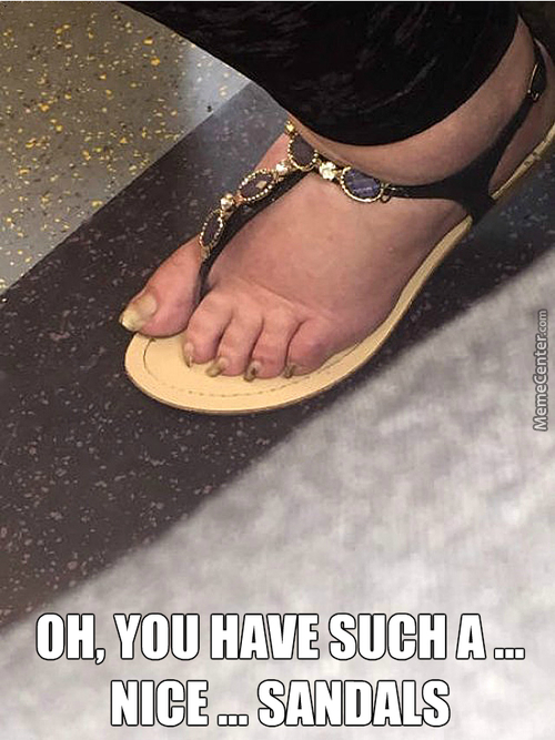 Nice Sandals Are ... Nice