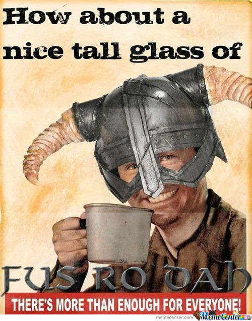 Nice Tall Glass Of...