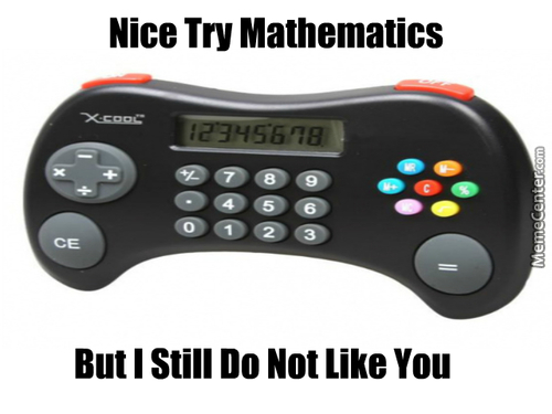 Nice Try Mathematics...