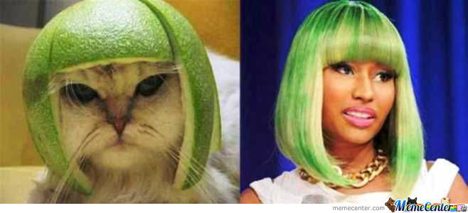 Nicki Minaj Has A Copycat....get It?
