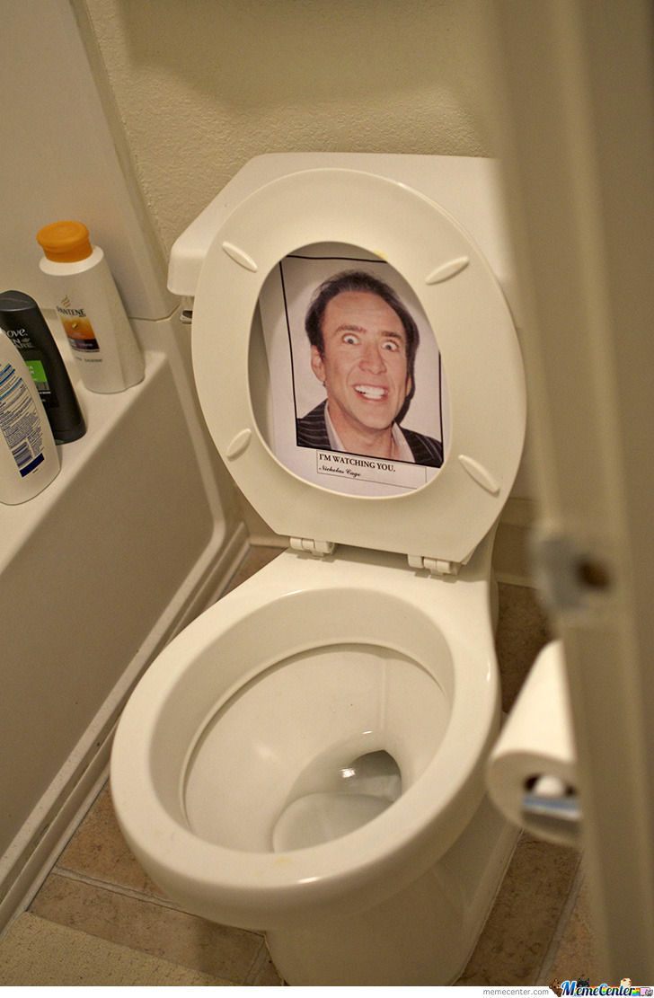 Nicolas Cage Is Watching You