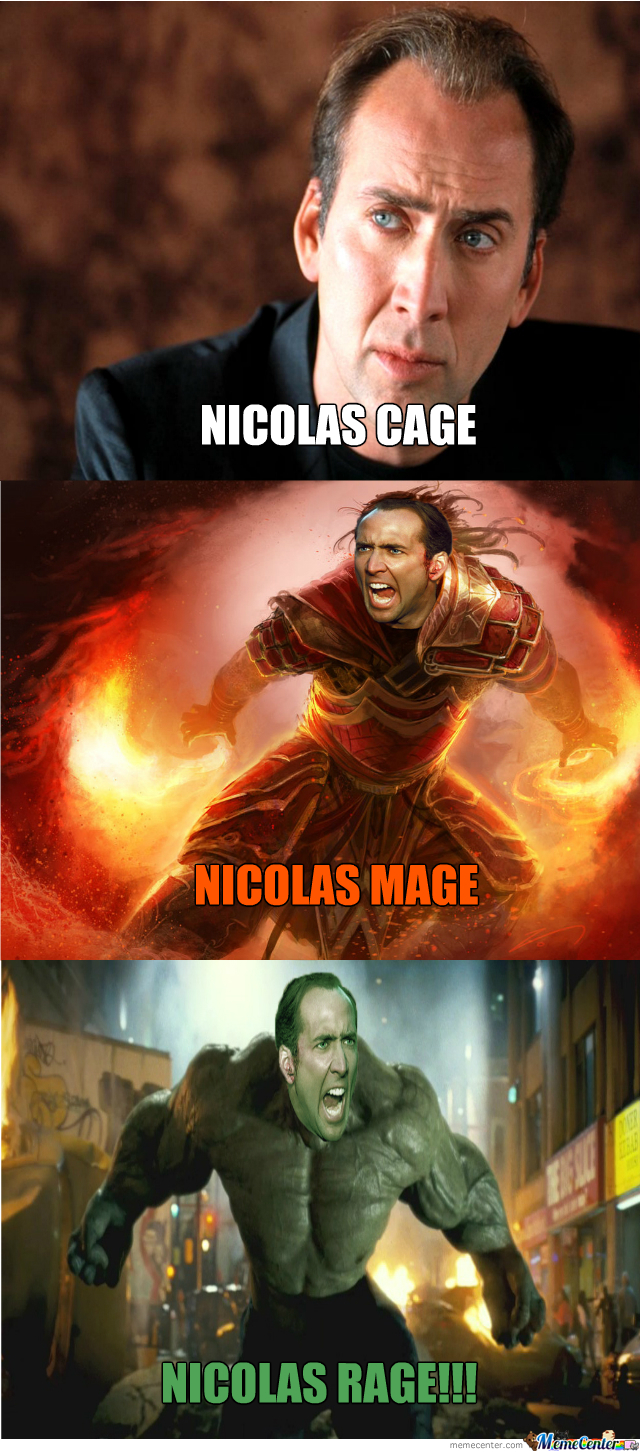 Nicolas Mode Engage!